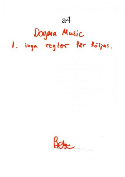 Dogma music