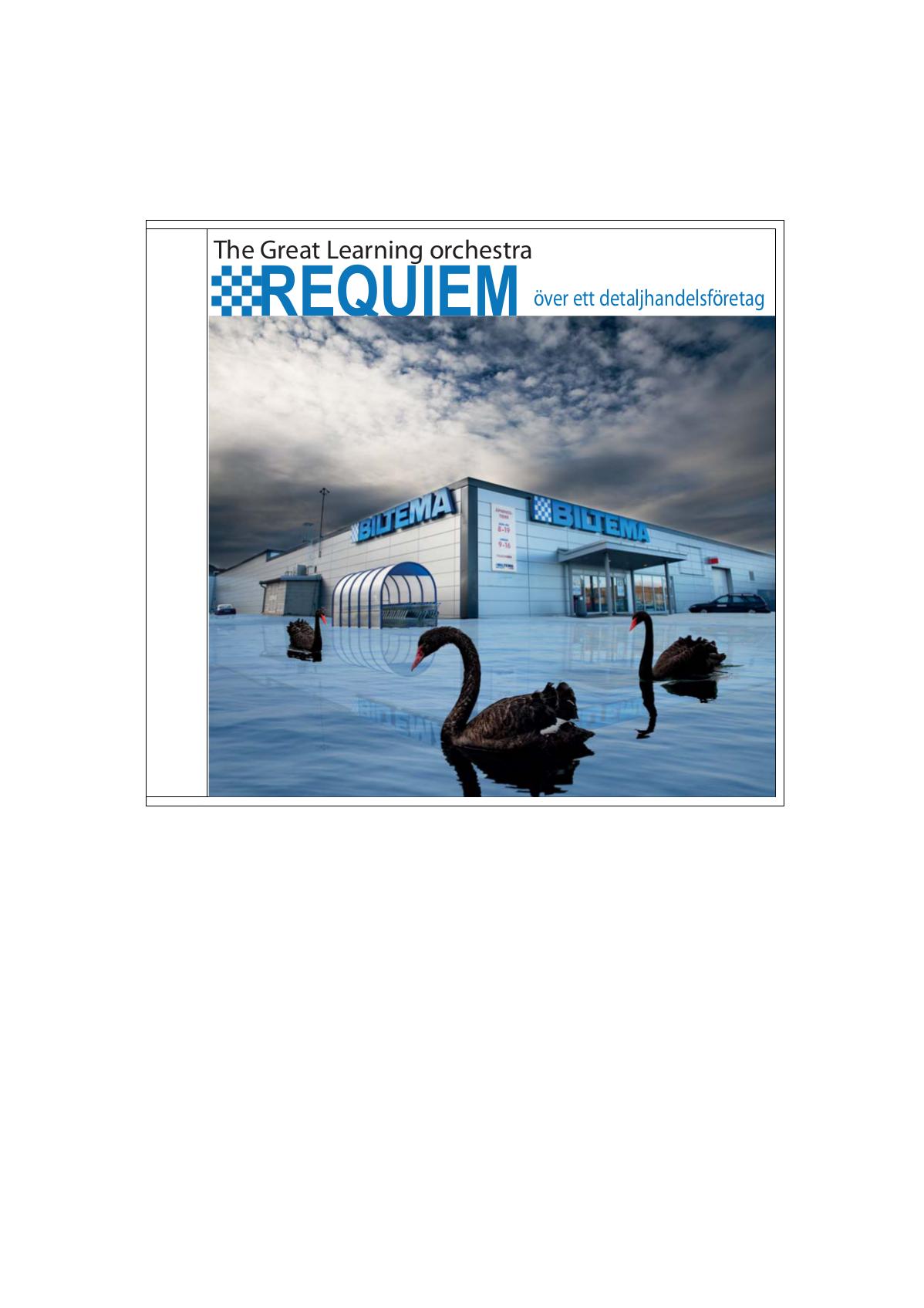 Requiem över ett detaljhandelsföretag